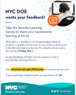 NYC DOE wants your feedback!