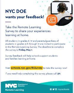 NYC DOE wants your feedback!